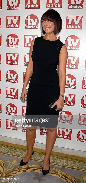 Tv Quick And Tv Choice Awards At The Dorchester Hotel London Britain 03 Sep 2007 Emma Barton