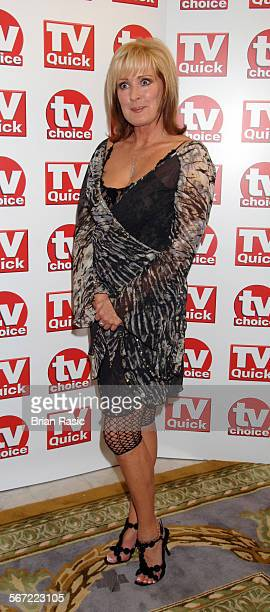Tv Quick And Tv Choice Awards At The Dorchester Hotel London Britain 03 Sep 2007 Beverley Callard