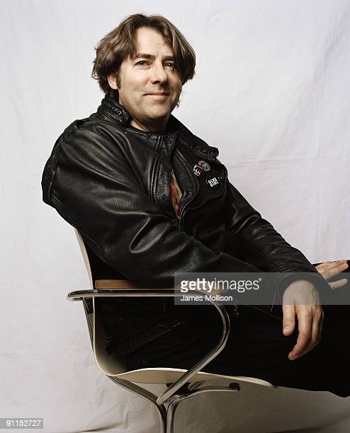 Tv & radio presenter Jonathan Ross poses for a portrait shoot for the Guardian Weekend magazine in London on March 3, 2009.