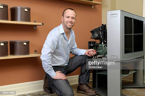 60 Top Tv Repair Pictures, Photos, & Images - Getty Images