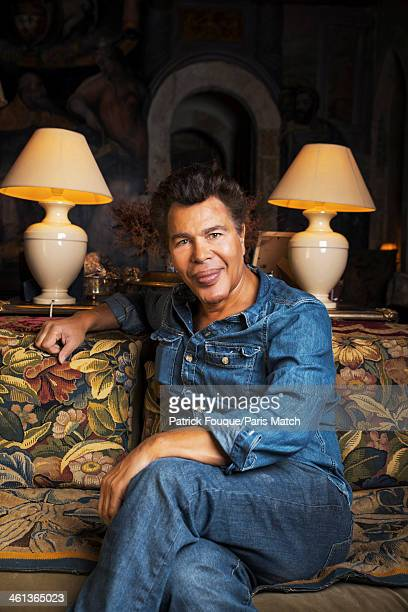 Tv science presenter and writer Igor Bogdanoff is photographed for Paris Match on October 18 2013 in Paris France