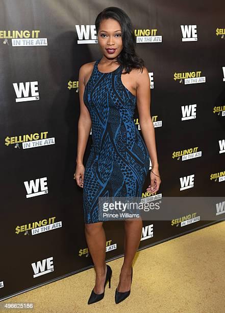 <<'WE tv' Selling It In the ATL' Premiere'>> at Woodruff Arts Center on November 3 2015 in Atlanta Georgia