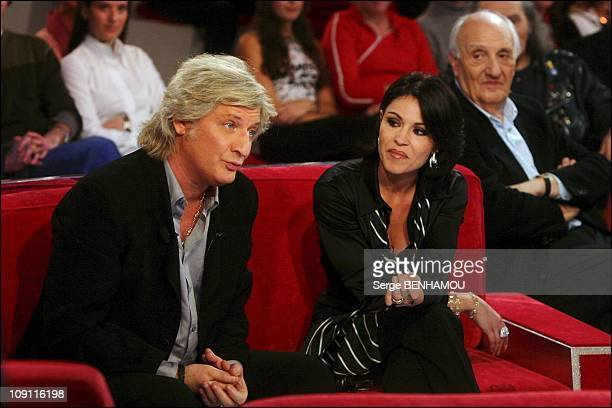 Tv Show 'Vivement Dimanche' With Patrick Sebastien On November 12 2003 In Paris France Patrick Sebastien And His Wife