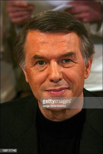 Tv Show 'Vivement Dimanche' With Patrick Sebastien On November 12 2003 In Paris France Adamo