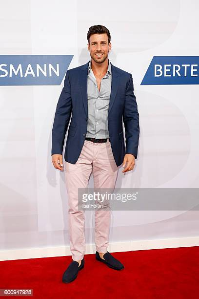 Bachelor Leonhard Freier attends the Bertelsmann Summer Party at Bertelsmann Repraesentanz on September 8 2016 in Berlin Germany