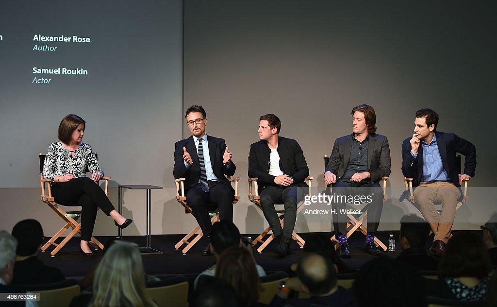 "Cast Of AMC's ""Turn"" At Apple Soho Store"