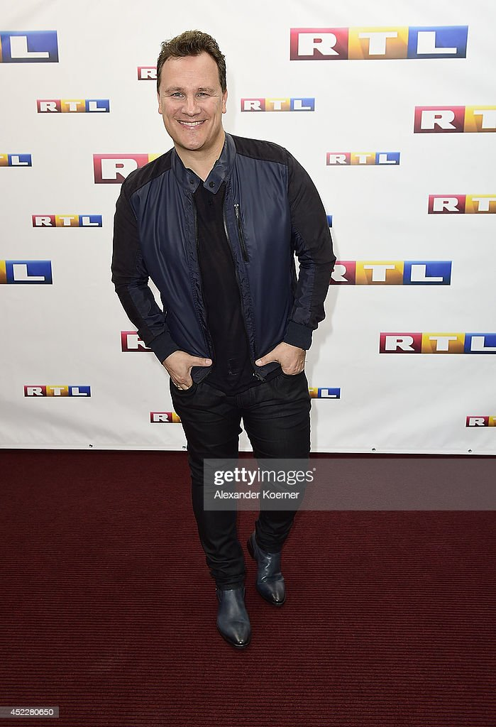 TV-presenter Guido Maria Kretschmer attends the offical Television programm-preview of german television production RTL on July 17, 2014 in Hamburg, Germany. He will present 'Deutschlands schoenste Frau' and 'Das Supertalent', both which will be shown nationwide later this year.