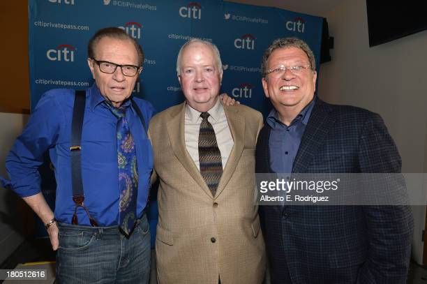 TV/radio host Larry King Founder President of Chicago's Museum of Broadcast Communication Bruce DuMont and Los Angeles Dodgers radio broadcaster...