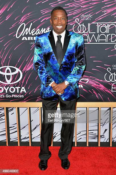 TV/radio personality Gary With Da Tea attends the 2015 Soul Train Music Awards at the Orleans Arena on November 6 2015 in Las Vegas Nevada