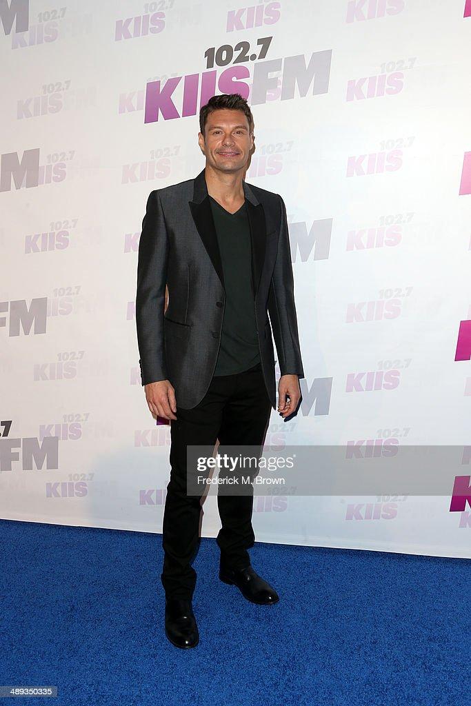TV/radio personality Ryan Seacrest attends 102.7 KIIS FM's 2014 Wango Tango at StubHub Center on May 10, 2014 in Los Angeles, California.