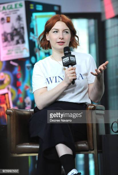 TV/radio presenter Alice Levine visits Build Series to discuss 'My Dad Wrote a Porno' at Build Studio on March 1 2018 in New York City