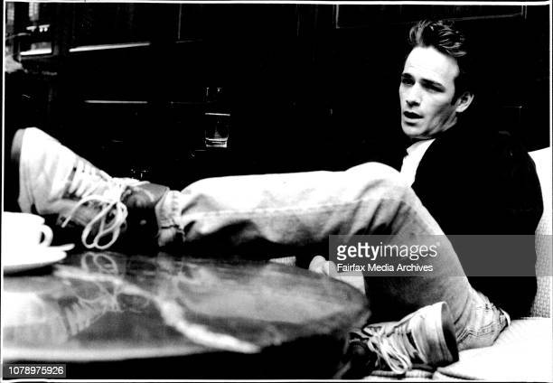 TVs Beverly Hills 90210 star Luke Perry at the Park Hyatt and the RocksPerry in Sydney I still hang out with the same people As a matter of fact my...