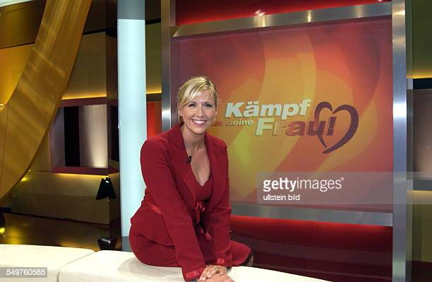 TVSendung 'Kämpf um Deine Frau' Moderatorin ANDREA KIEWEL