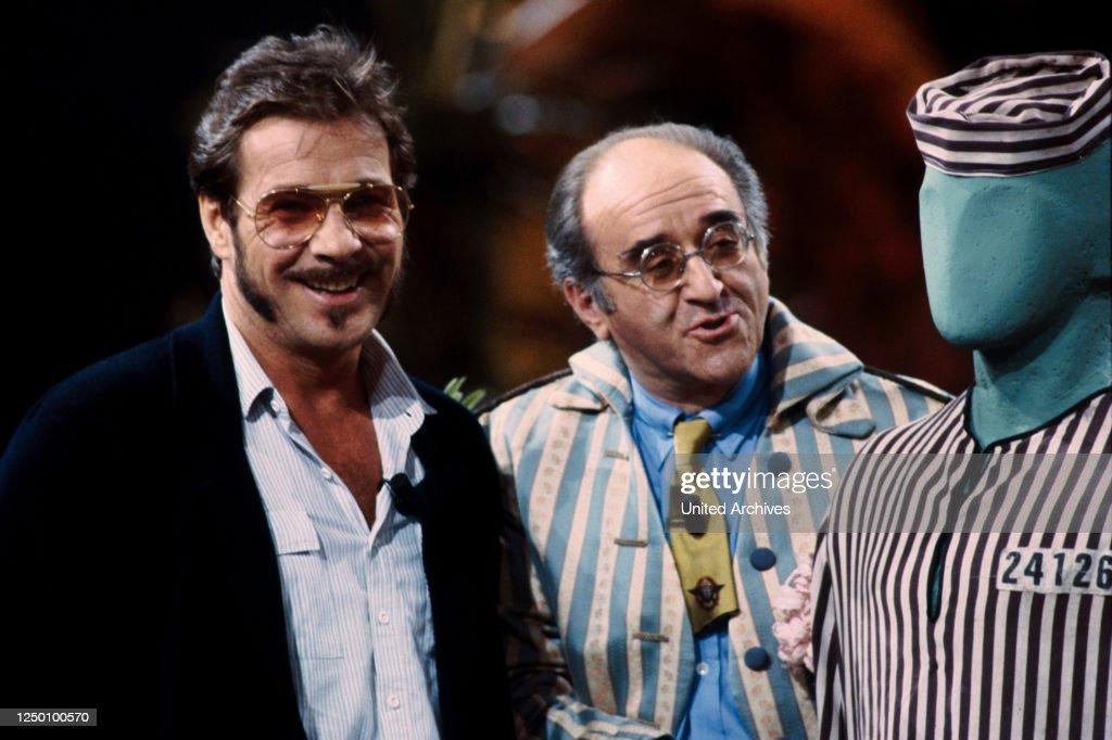 Tv Show Mensch Meier 90er Jahre Gotz George Und Alfred Biolek News Photo Getty Images
