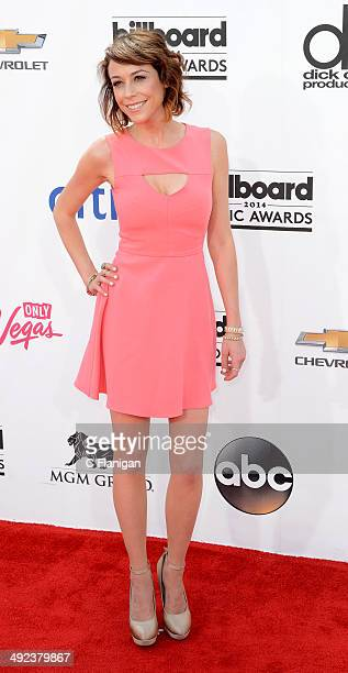 Web personality Shira Lazar arrives at the 2014 Billboard Music Awards at the MGM Grand Garden Arena on May 18, 2014 in Las Vegas, Nevada.