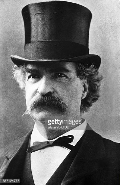 Twain Mark Schriftsteller USA Portrait undatiert