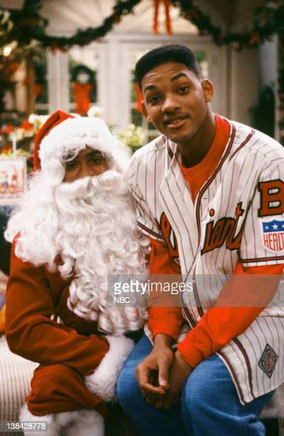AIR THE Twas the Night Before Christmas Episode 13 Pictured Alfonso Ribeiro as Carlton Banks Will Smith as William 'Will' Smith
