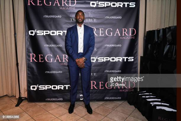 Twaun Moore attends Regard Magazine 2018 NBA AllStar PreParty hosted by Derek Fisher at Soho House on February 15 2018 in West Hollywood California