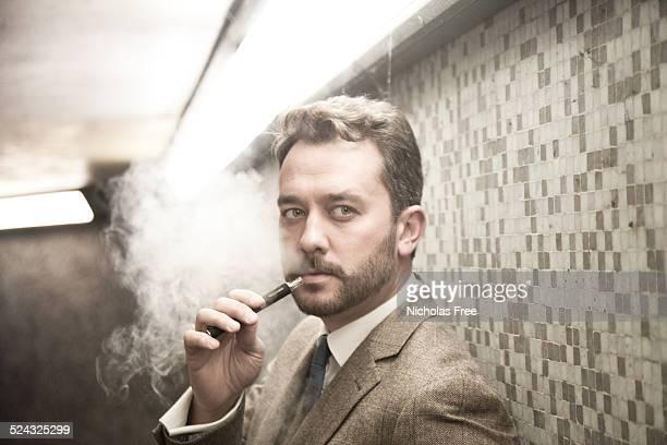 Tweed-Geschäftsmann