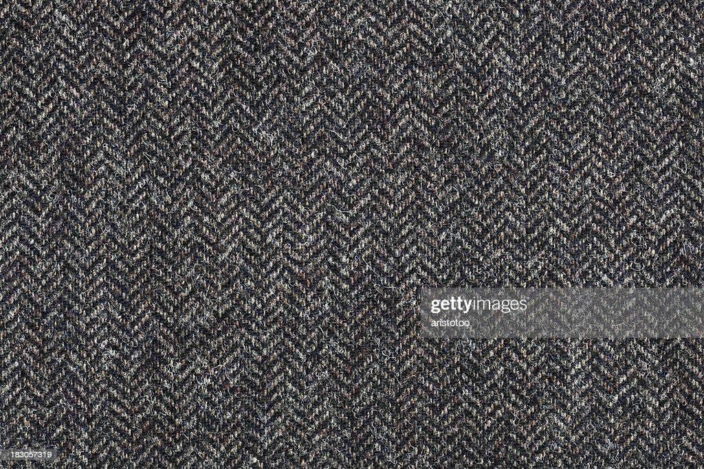 Tweed Textile Background : Stock Photo