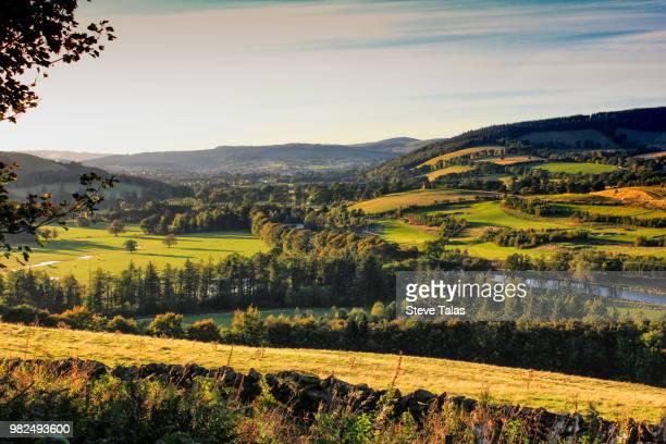 Tweed Valley at Cardrona, Scottish Borders, Scotland