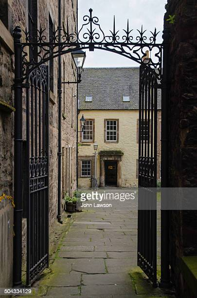Tweedale Court is a close, or alleyway, on Edinburgh's Royal Mile, Scotland. It is adjacent to World's End Close, which was next to the city walls...