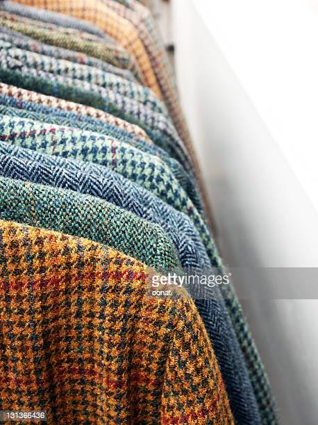 tweeds - tweed stock pictures, royalty-free photos & images