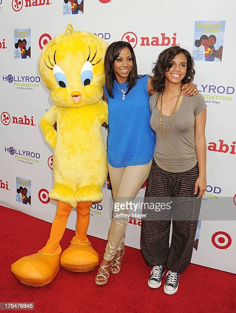Tweety Bird actress Holly Robinson Peete and daughter Ryan Elizabeth Peete arrive at HollyRod Foundation's 4th Annual 'My Brother Charlie' Carnival...