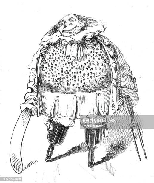 """Twelfth Night characters - Honest Plum Pudding, 1844. Character from William Shakespeare's play """"Twelfth Night, or What You Will"""", written as..."""