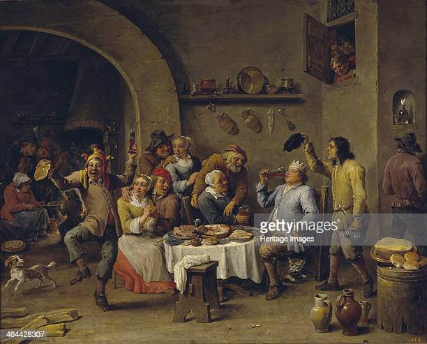 Twelfth Night party 16501660 Found in the collection of the Museo del Prado Madrid
