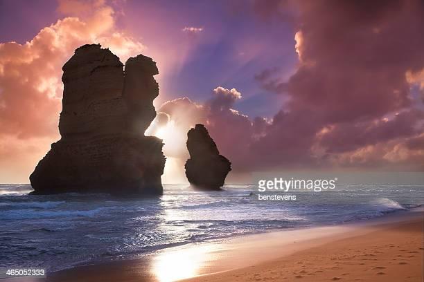 Twelve Apostles at Sunset