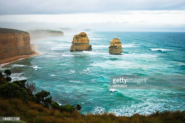 Twelve Apostles coastline, Port Campbell National Park, Victoria, Australia
