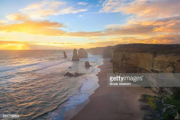 Twelve Apostles on the Great Ocean Road.