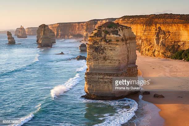 Twelve Apostles rocks in port Campbell national park in Victoria Australia