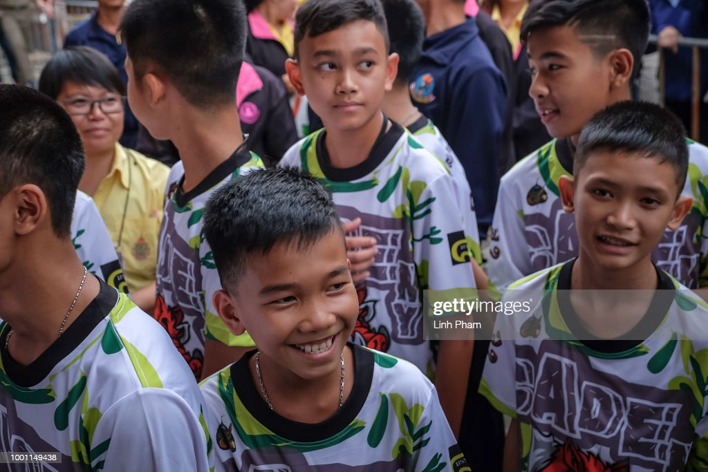 Thailand Cave Rescue For Trapped Soccer Team : News Photo