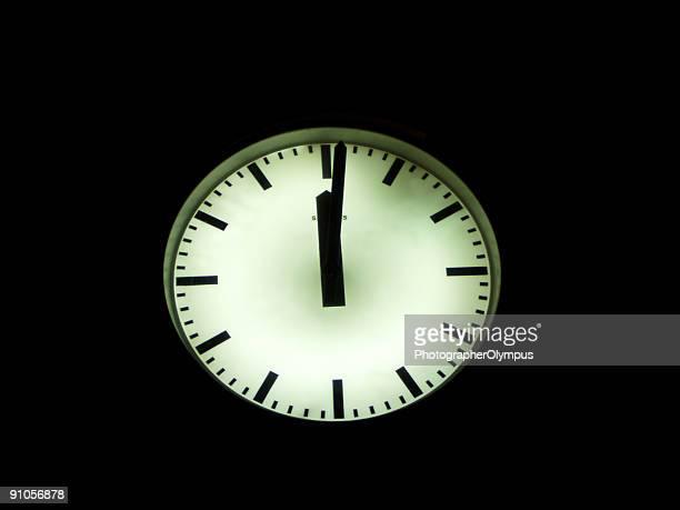 Twelve o'clock
