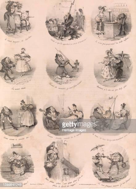 Twelve Satirical Vignettes , December 1, 1832. Artist Charles Joseph Travi�s de Villers.