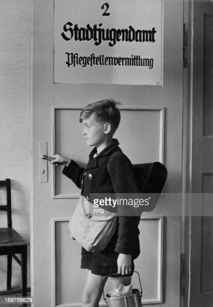 Twelveyearold Peter an orphan in Germany pays his weekly visit to the city's youth placement centre or Stadtjugendamt in the hope of finding a new...