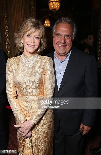 Twentieth Century Fox Chairman and CEO Jim Gianopulos and Actress Jane Fonda attend Fox Searchlight's Youth Toronto International Film Festival...