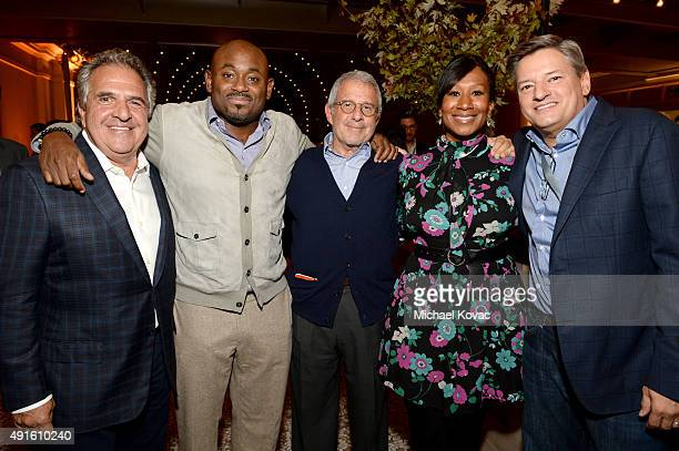 Twentieth Century Fox Chairman and CEO Jim Gianopulos Translation Founder and CEO Steve Stoute NBCUniversal Vice Chairman Ron Meyer Nicole Avant and...