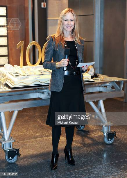 Twentieth Century Fox Television Chairman Dana Walden attends the 20th Century Fox's Bones 100th Episode Celebration at Fox Studio Lot on January 26...