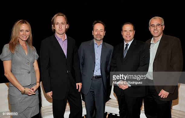 Twentieth Century Fox Television Chairman Dana Walden Reveille Managing Director CoHead of Domestic Television Mark Koops FX Networks President and...