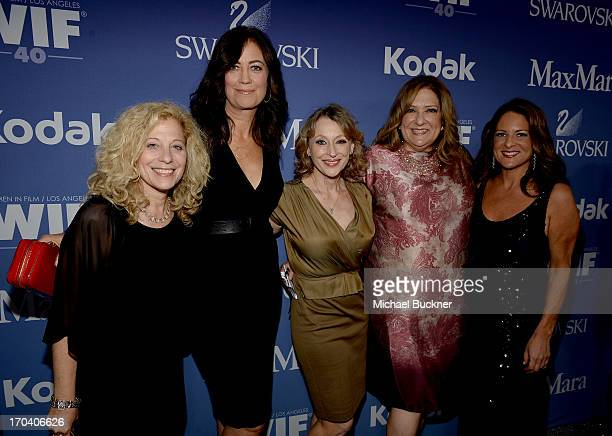 Twentieth Century Fox VP of Production Deborah Liebling WIF President Emeritus Jane Fleming executive producer Gail BermanMasters executive director...