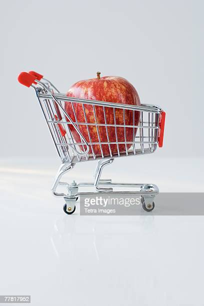 Twenty Dollar bill in shopping cart