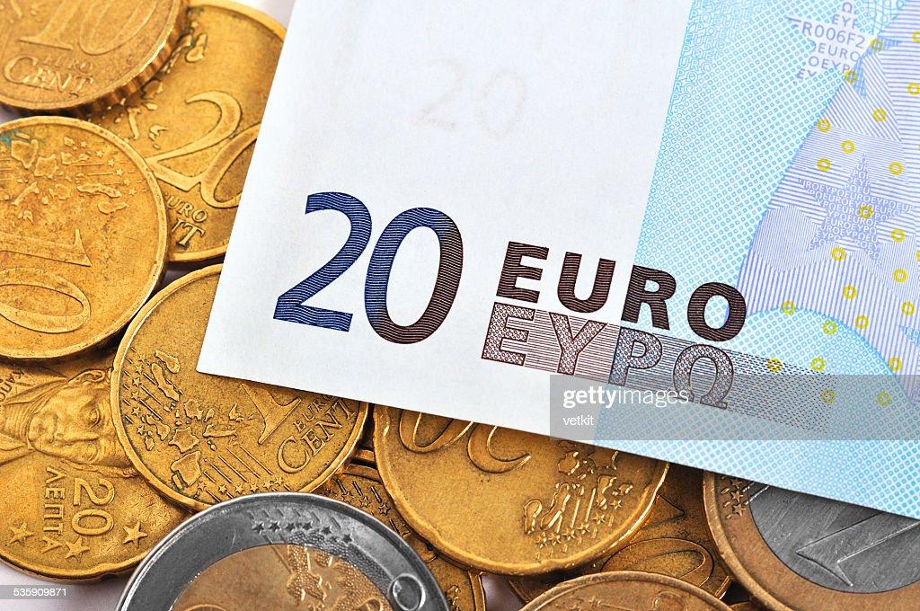 twenty euro : Stock Photo