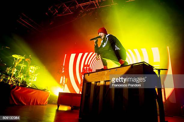 twenty one pilots perform on February 8 2016 in Milan Italy