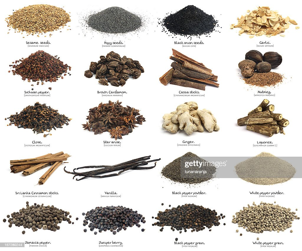 Twenty spices. XXXL. Second part. : Stock Photo