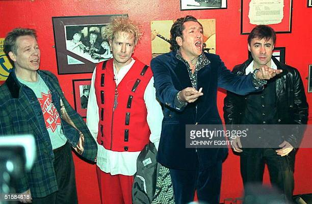 Twenty years after punk rock shook the British music establishment the four surviving members of the infamous group the Sex Pistols announced 18...