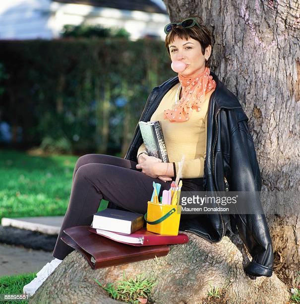 Twenty years on American actress Dinah Manoff recreates her role as Marty in the 1978 musical film 'Grease' A photoshoot for People Magazine pub 13th...