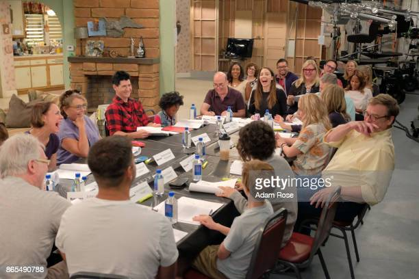 ROSEANNE 'Twenty Years to Life' Iconic comedy series Roseanne holds its first table read for the revivals premiere episode entitled Twenty Years to...